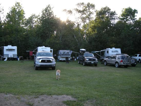 Hadley's Point Campground: Sites at Hadley Point Campground