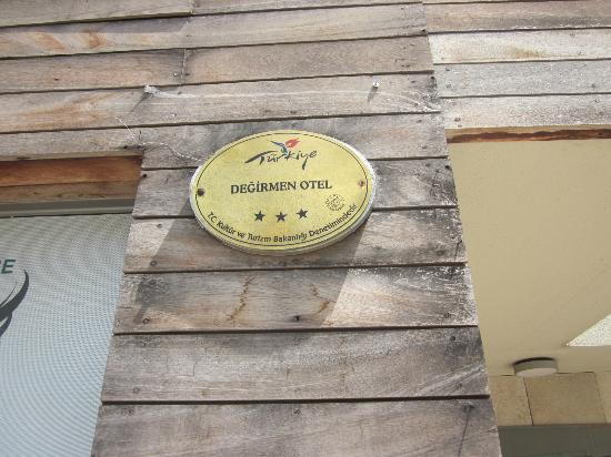 Degirmen Hotel: Logo.