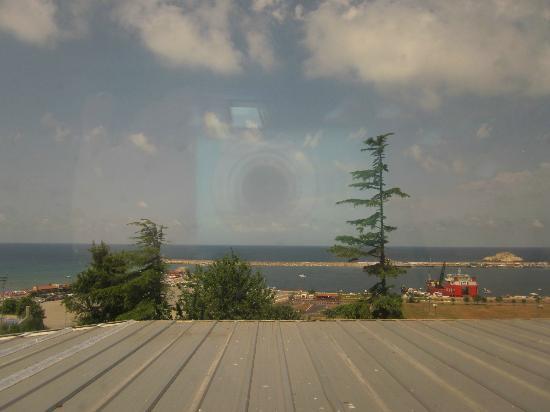 Degirmen Hotel: Sea view.