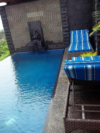 Jimbaran Cliffs Private Hotel & Spa: the ganesha over looking the pool