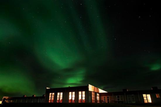 Icelandair Hotel Hamar: Northern lights