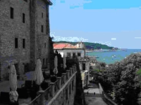 Parador de Hondarribia: Auf der Terrasse