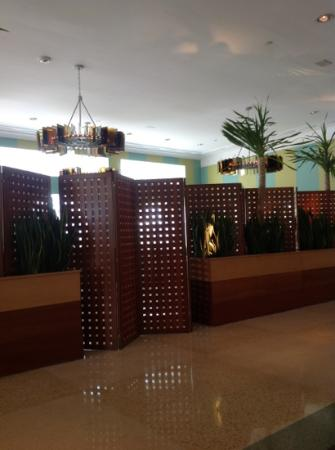 The Hotel of South Beach: hotel lobby