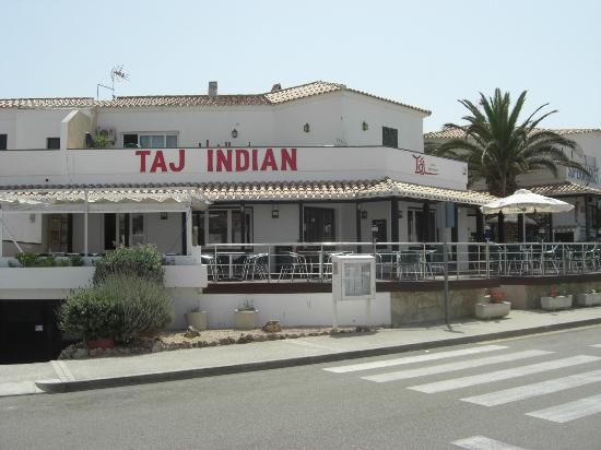 Port d'Addaia, Spania: Taj Indian Restaurant, Addaia