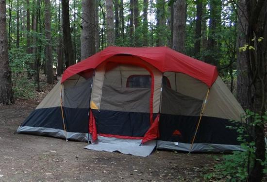 Watkins Glen State Park Campground: Our STOLEN Tent