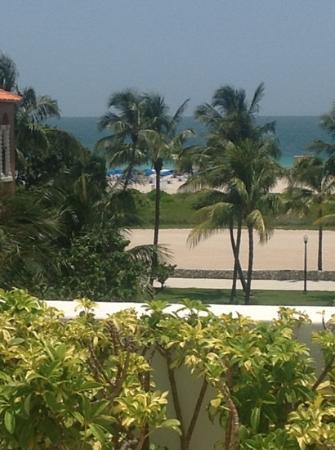 The Hotel of South Beach: view from roof top (zoomed in)