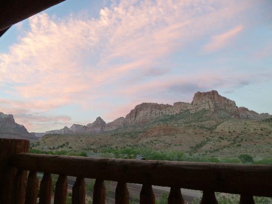 Majestic View Lodge: la vue de notre balcon!!! WAAAW