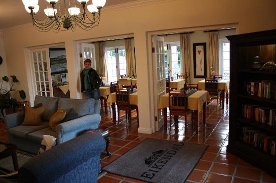 Eikendal Lodge: Лобби
