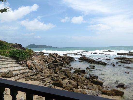 Da Maurizio Bar Ristorante: View from restaurant, low tide