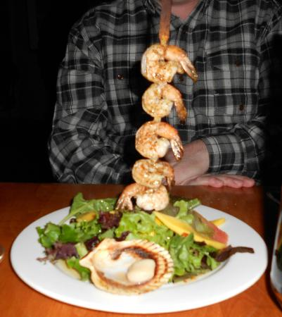 Villa Caruso : Greek Shrimp starter