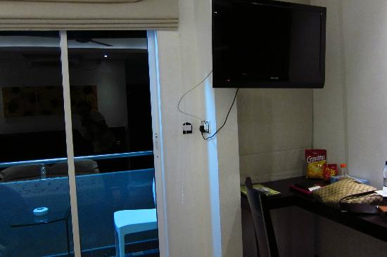 Fern Boquete Inn: LCD TV