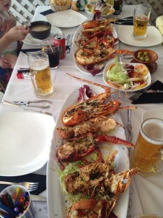 Restaurante S' Albufera: langosta grill