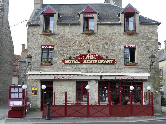 L'Estaminet: La Facade du restaurant