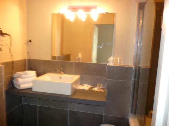 Hotel Domaine Du Griffier : salle de bains
