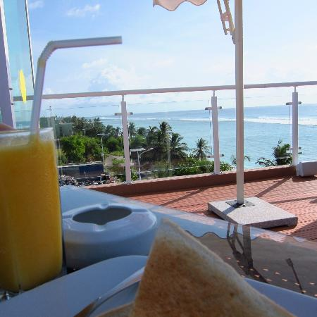 Fern Boquete Inn: Breakfast with a view