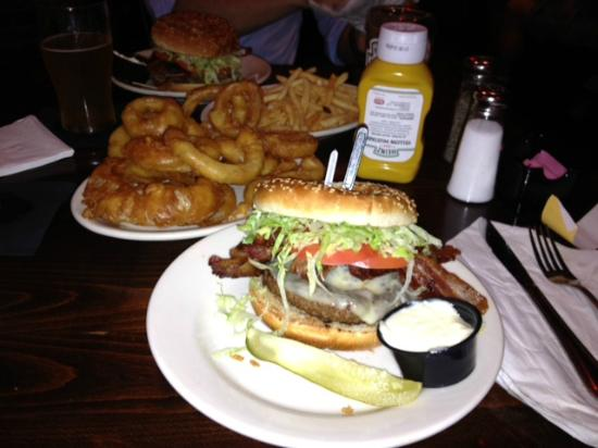 Hamburger - Picture of Red Coat Tavern, Royal Oak - TripAdvisor