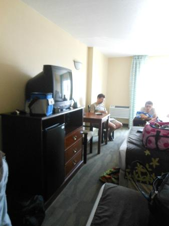BEST WESTERN Gold Leaf: TV, Fridge, Microwave in room