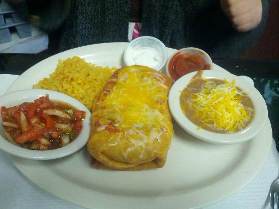 Good Times Diner: Chimichanga Dinner