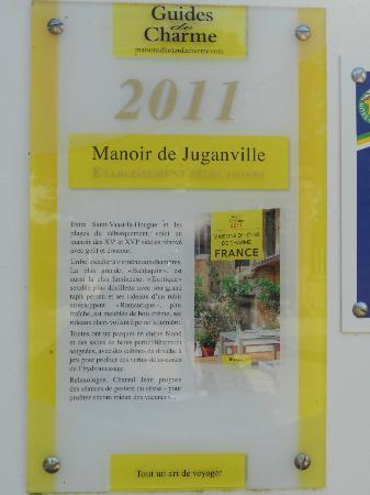 Le Manoir de Juganville : Divers