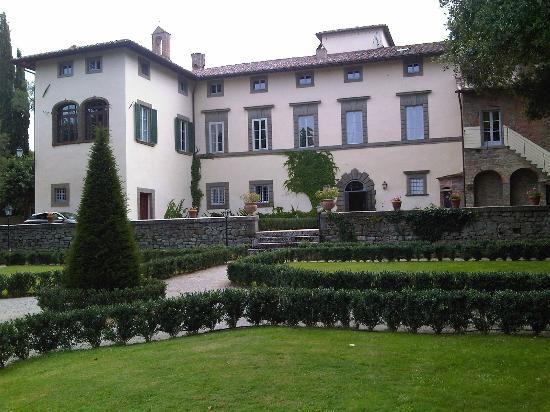 Villa di Piazzano: Prospetto frontale