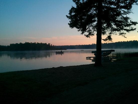 Remer, MN: From my camp space