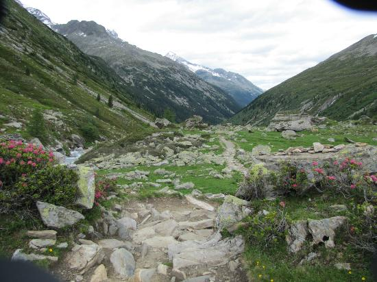 Mayrhofen, Østrig: Most of the trails are very easy