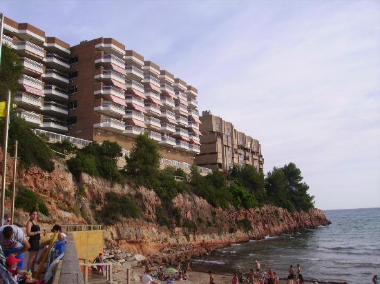 Pierre & Vacances Residenz Salou: bord de mer