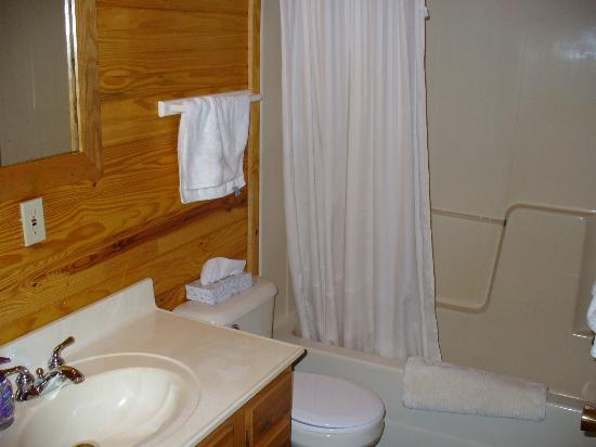 Cedar Grove Lodging: bathroom