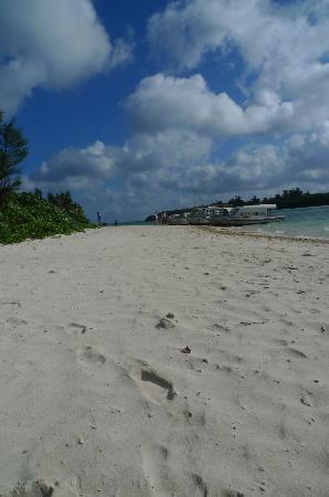 Kabira Park: サラサラの砂浜