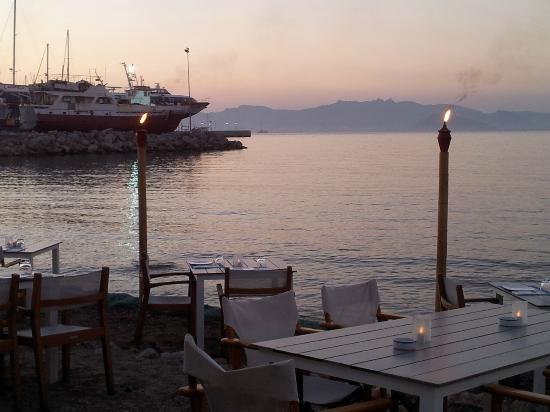 Spitaki-Kos: panorama con vista mare/porto