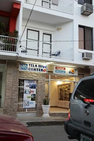 Hotel Marsol: Entrada al Hotel