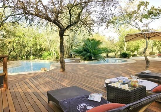 Ulusaba Safari Lodge pool