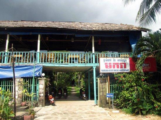 Makara Guesthouse: the restaurant