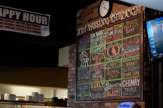 Stanley's Northeast Bar: Tap Beer Board