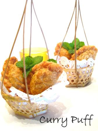 Curry Puffs - a Thai Spice exclusive