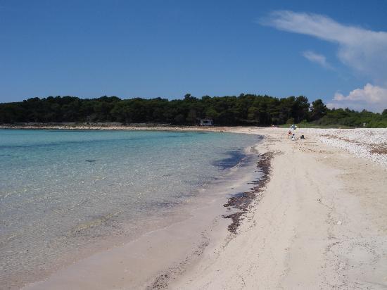 Veli rat, Chorwacja: la spiaggia