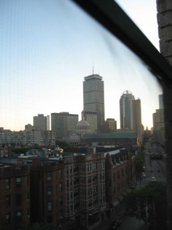 Greater Boston YMCA: View from our room