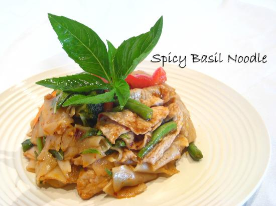 Thai Spice: Spicy Basil Noodle