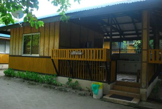San Juan, Philippines: room where we stayed