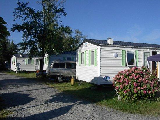 Camping les Etangs Mina : Mobil home standard
