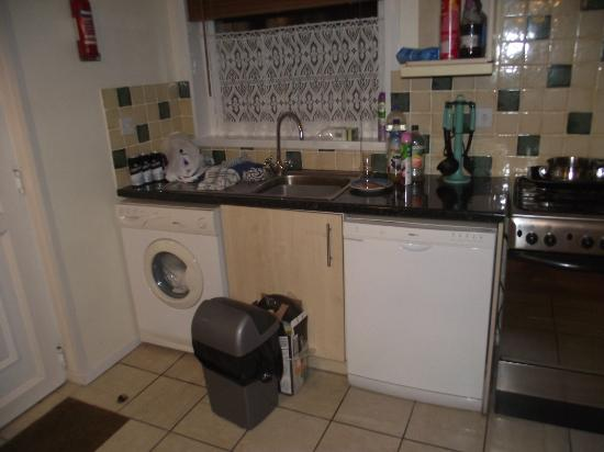Watermouth Lodges: Palms 27 - Kitchen Area
