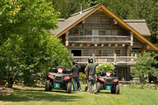 NEK Adventures ATV & Snowmobile Tours: Tour at the Orchard in Danville, VT