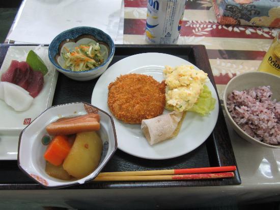 Youth Hostel Takana Ryokan: 夕食です