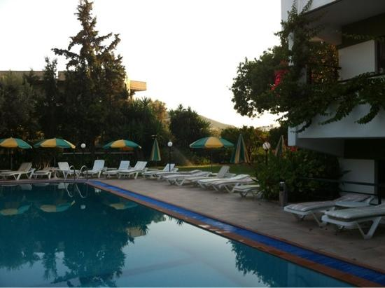 Hotel Terinikos: la piscina