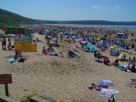 Woolacombe United Kingdom  city pictures gallery : Sunset, Woolacombe Beach Picture of Woolacombe Beach, Woolacombe ...