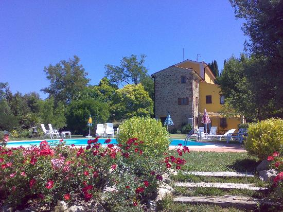Villa Tatti: Agriturismo visto dalla dependance