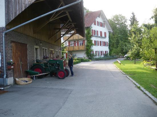 Landhotel Martinsmühle: Hotel Martinsmuhle and farm