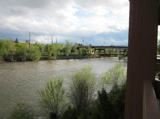 Doubletree Missoula/Edgewater: From our balcony