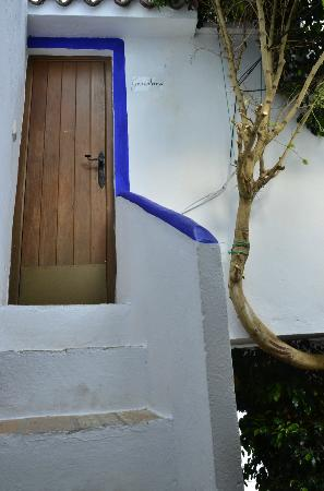 El Cobijo de Vejer: Staircase leading up to room