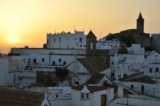 El Cobijo de Vejer.: Sunrise as seen from living room